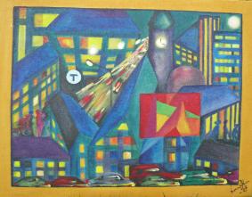 Stad i ljus