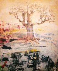 Träd med räv