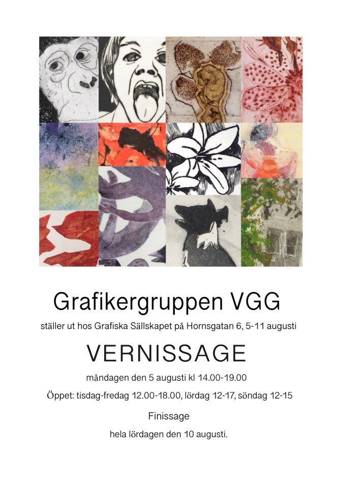 Graf.sällsk 2019 vernissage